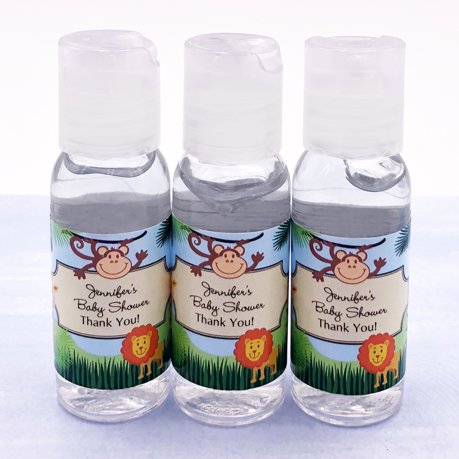 Personalized Baby Shower Hand Sanitizer Favors