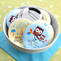 Personalized Baby Shower Buttons