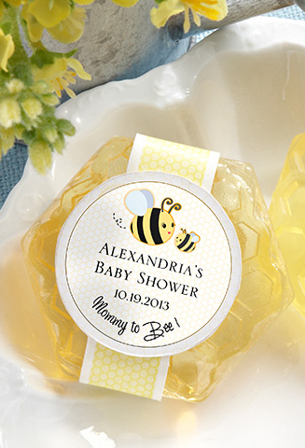 Set of 10 Bumble Bee Baby Shower Favor Tags All Wording Customized Birthday Favor Tags