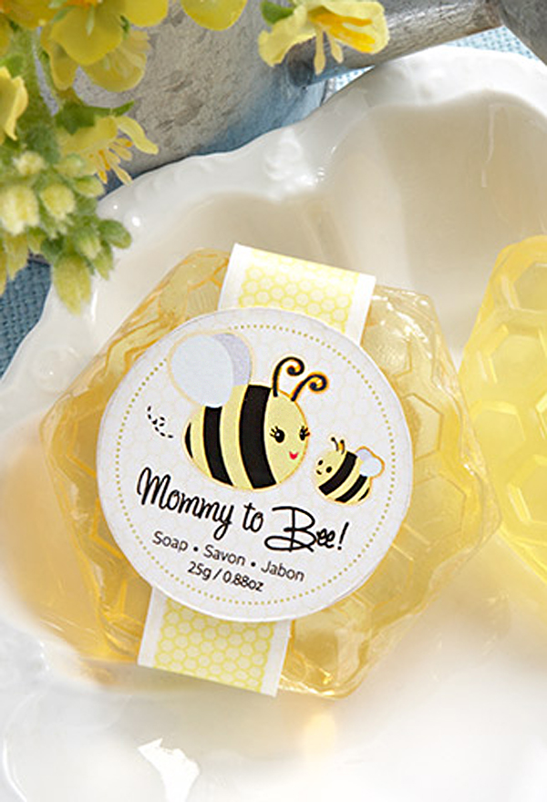 Baby Shower Napkins Mommy To Bee Honey Scented Honeycomb Soap Favors