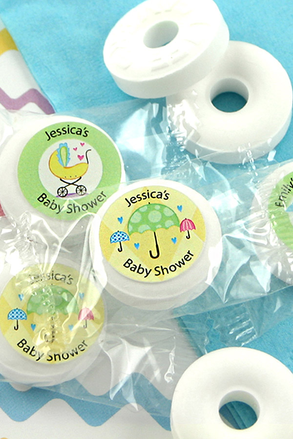 Personalized Baby Shower Life Savers® Mint Favors