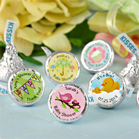 Personalized Baby Shower Hershey's Kisses Favors