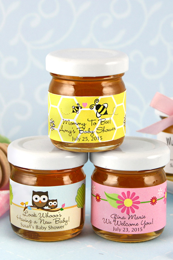 Personalized Baby Shower Honey Jar Favors