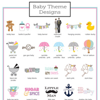 Personalized Baby Shower Design Options