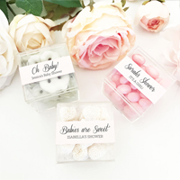 Personalized Baby Shower Acrylic Favor Boxes