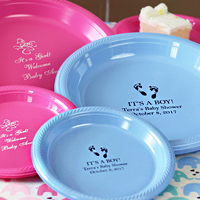 Baby Shower Plates & Cups