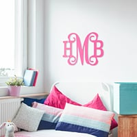 Personalized Wood Wall Monograms