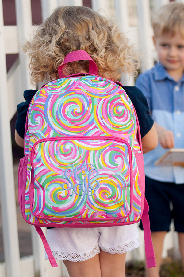 Personalized Summer Sorbet Preschool Backpack