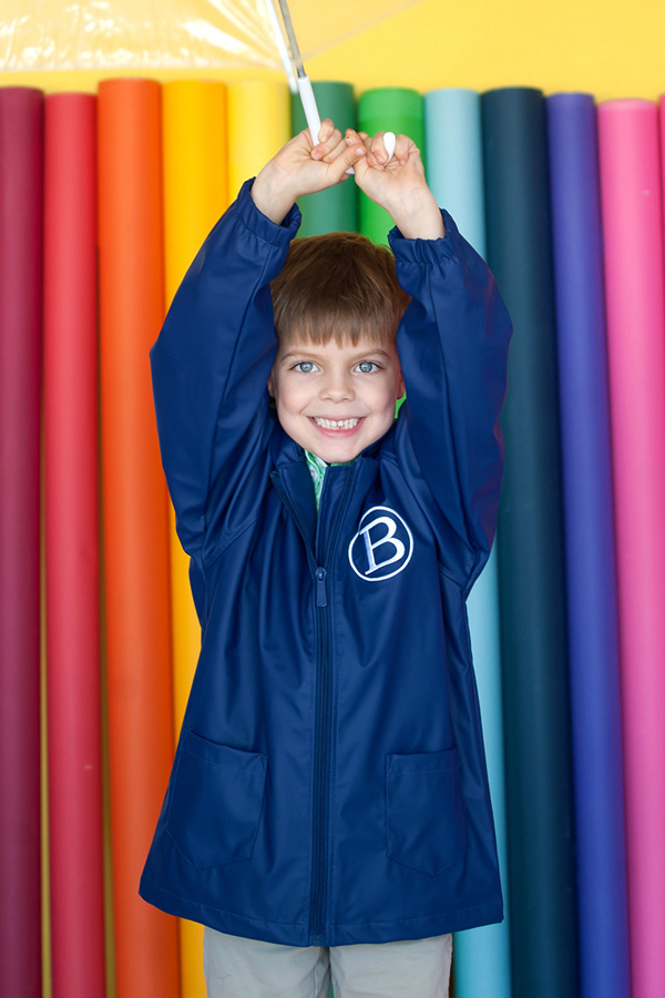 Larkwood Toddler Baby Boys Girls Rain Jacket Coat