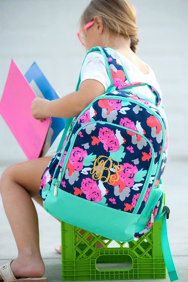 Personalized Amelia School Backpack