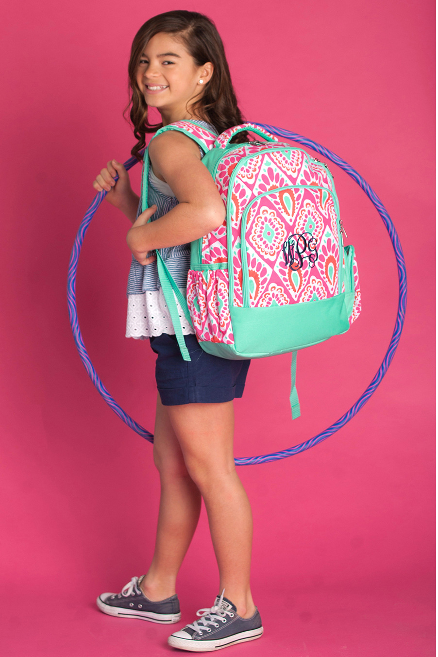 Personalized Beachy Keen School Backpack