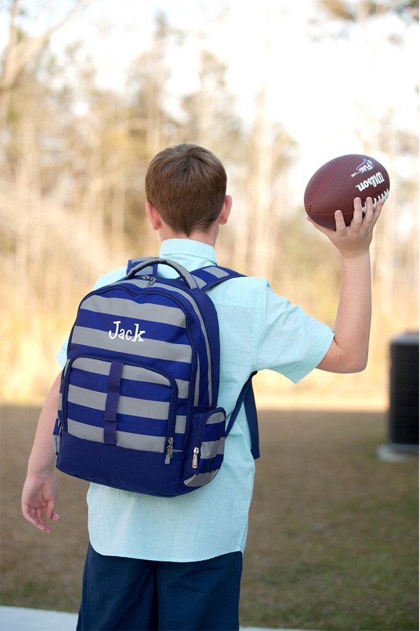 Personalized Greyson School Backpack