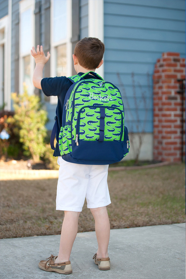 Personalized Later Gator School Backpack