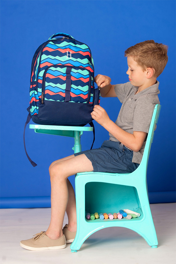 Personalized Overlook School Backpack
