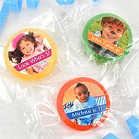 Personalized Birthday Photo Life Savers® Candy Favors