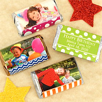 Personalized Birthday Photo Hershey®'s Assorted Miniatures™ Favors