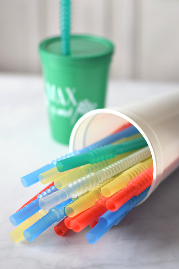 7 Inch Flexible Plastic Drinking Straws