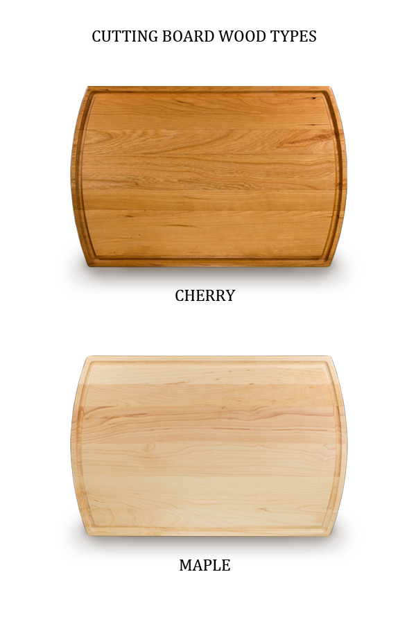 Cutting Board Wood Type Options