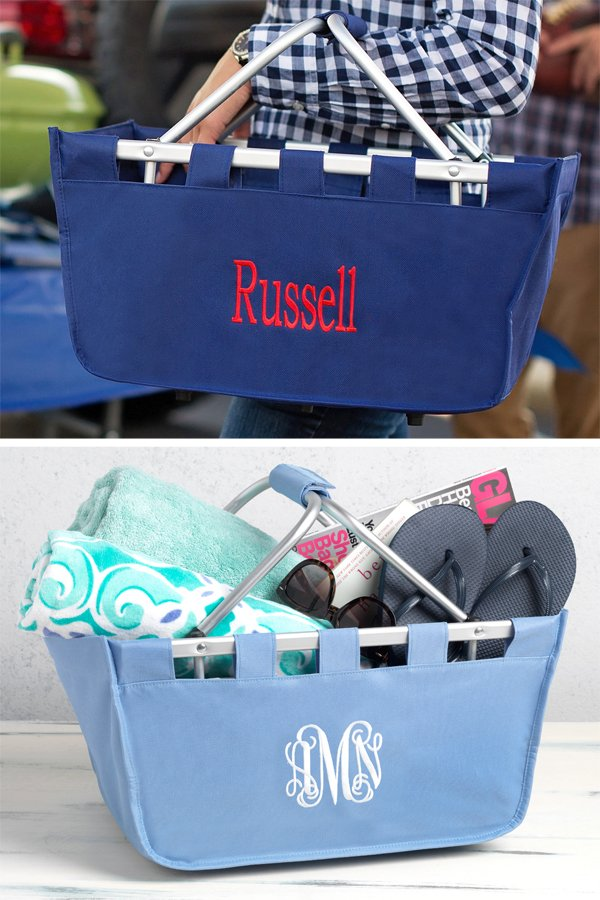 Personalized Large Market Totes
