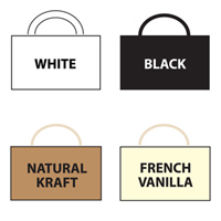 Choose from assorted petite party bag color options