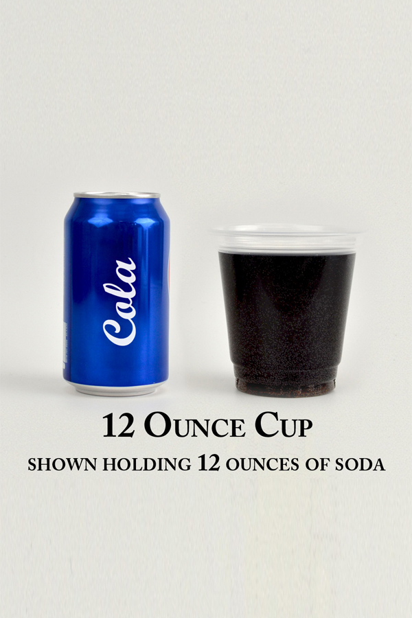 12 Oz Cup Size Comparison