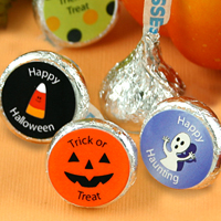 Personalized Halloween Hershey's Kisses® Favors