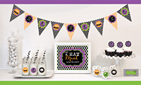 Spooky Halloween Party Decoration Kit