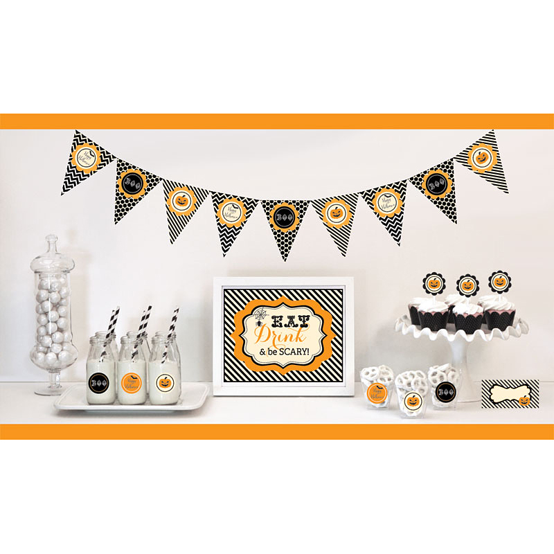 Classic Halloween Party Decoration Kit