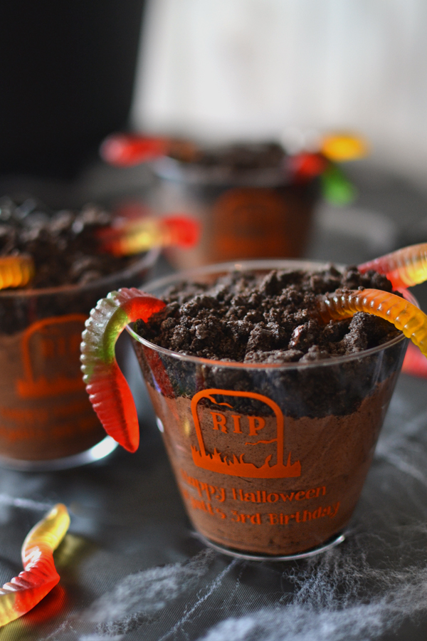 Personalized Clear Plastic Halloween Party Cups
