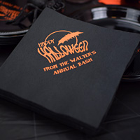 Halloween Party Custom Printed Paper Dinner Napkins