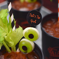 "7"" Personalized Plastic Drink Stirrers"